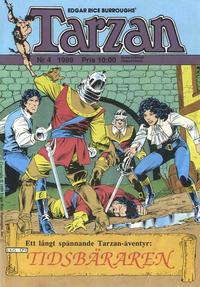 Cover Thumbnail for Tarzan (Atlantic Förlags AB, 1977 series) #4/1989