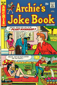 Cover Thumbnail for Archie's Joke Book Magazine (Archie, 1953 series) #201