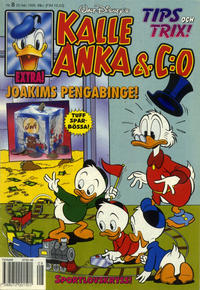 Cover for Kalle Anka & C:o (Serieförlaget [1980-talet], 1992 series) #8/1995