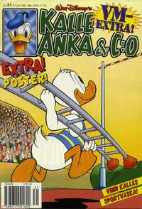 Cover Thumbnail for Kalle Anka & C:o (Serieförlaget [1980-talet], 1992 series) #31/1995