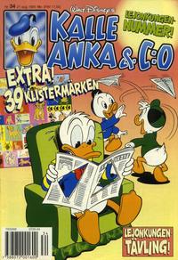 Cover Thumbnail for Kalle Anka & C:o (Serieförlaget [1980-talet], 1992 series) #34/1995