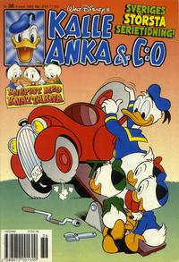 Cover Thumbnail for Kalle Anka & C:o (Serieförlaget [1980-talet], 1992 series) #36/1995