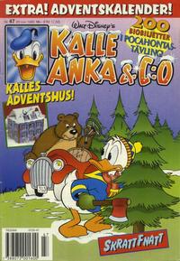 Cover Thumbnail for Kalle Anka & C:o (Serieförlaget [1980-talet], 1992 series) #47/1995
