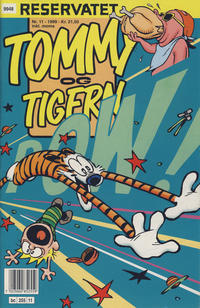 Cover Thumbnail for Tommy og Tigern (Bladkompaniet / Schibsted, 1989 series) #11/1999