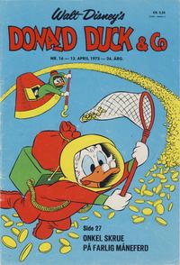 Cover Thumbnail for Donald Duck & Co (Hjemmet / Egmont, 1948 series) #16/1973