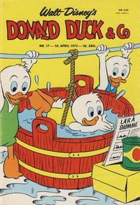 Cover Thumbnail for Donald Duck & Co (Hjemmet / Egmont, 1948 series) #17/1973