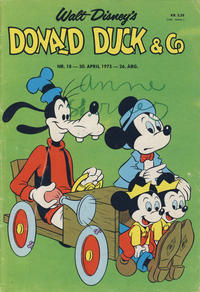 Cover Thumbnail for Donald Duck & Co (Hjemmet / Egmont, 1948 series) #18/1973