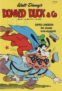 Cover Thumbnail for Donald Duck & Co (Hjemmet / Egmont, 1948 series) #20/1973
