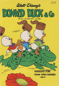 Cover Thumbnail for Donald Duck & Co (Hjemmet / Egmont, 1948 series) #22/1973