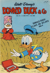 Cover Thumbnail for Donald Duck & Co (Hjemmet / Egmont, 1948 series) #23/1973