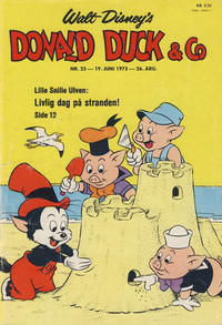 Cover Thumbnail for Donald Duck & Co (Hjemmet / Egmont, 1948 series) #25/1973