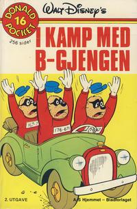 Cover Thumbnail for Donald Pocket (Hjemmet / Egmont, 1968 series) #16 - I kamp med B-gjengen [2. opplag]