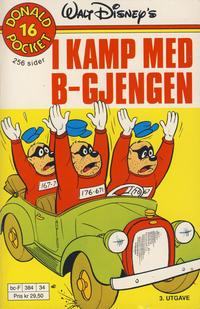 Cover Thumbnail for Donald Pocket (Hjemmet / Egmont, 1968 series) #16 - I kamp med B-gjengen [3. opplag]