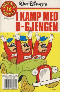 Cover Thumbnail for Donald Pocket (Hjemmet / Egmont, 1968 series) #16 - I kamp med B-gjengen [4. opplag]