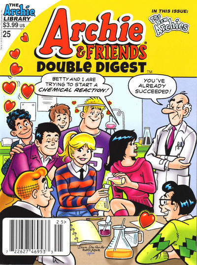 Cover for Archie & Friends Double Digest Magazine (Archie, 2011 series) #25 [Direct]