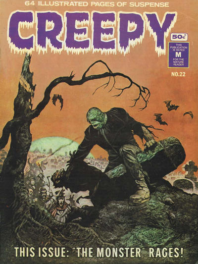 Cover for Creepy (K. G. Murray, 1974 series) #22