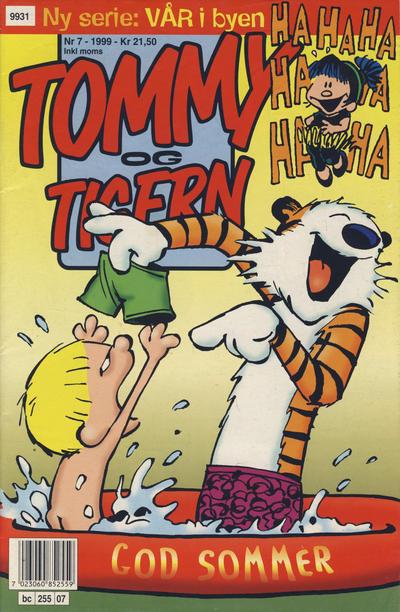 Cover for Tommy og Tigern (Bladkompaniet / Schibsted, 1989 series) #7/1999