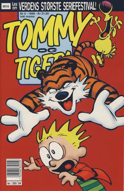 Cover for Tommy og Tigern (Bladkompaniet / Schibsted, 1989 series) #4/1999
