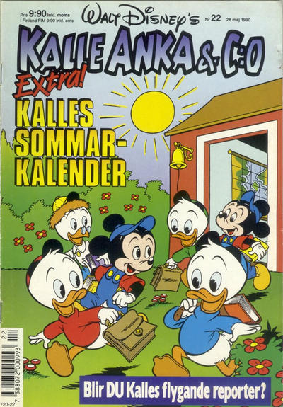 Cover for Kalle Anka & C:o (Hemmets Journal, 1957 series) #22/1990