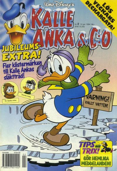 Cover for Kalle Anka & C:o (Serieförlaget [1980-talet], 1992 series) #2/1994