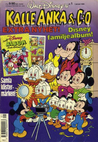 Cover for Kalle Anka & C:o (Hemmets Journal, 1957 series) #1/1990