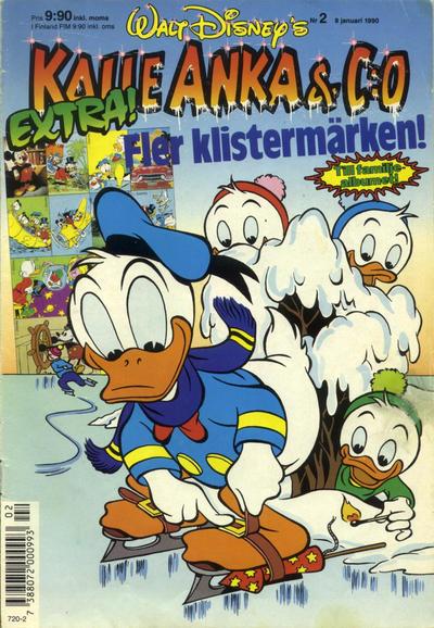 Cover for Kalle Anka & C:o (Hemmets Journal, 1957 series) #2/1990