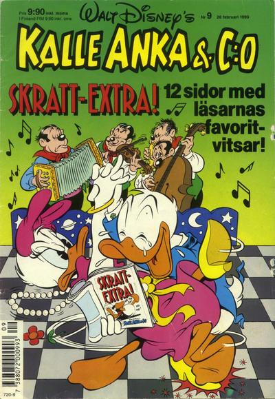 Cover for Kalle Anka & C:o (Hemmets Journal, 1957 series) #9/1990