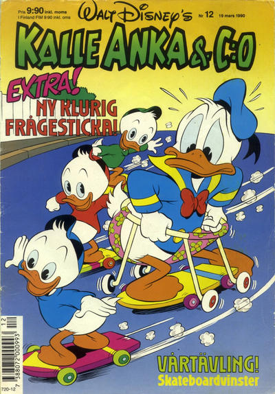 Cover for Kalle Anka & C:o (Hemmets Journal, 1957 series) #12/1990
