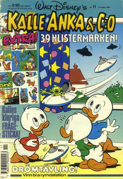 Cover for Kalle Anka & C:o (Hemmets Journal, 1957 series) #11/1990