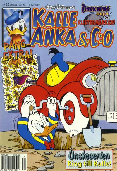 Cover for Kalle Anka & C:o (Serieförlaget [1980-talet], 1992 series) #35/1994