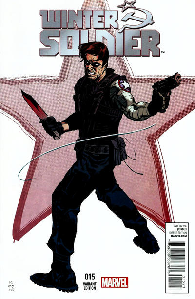 Cover for Winter Soldier (Marvel, 2012 series) #15