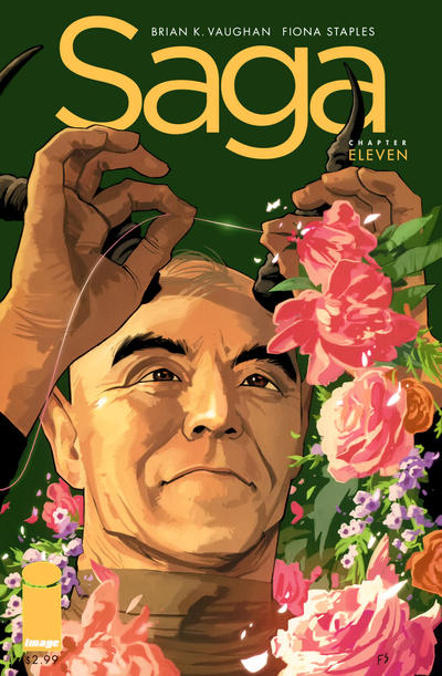 Cover for Saga (Image, 2012 series) #11