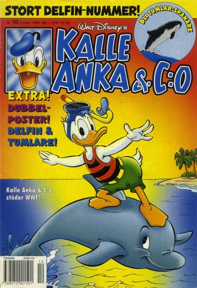 Cover for Kalle Anka & C:o (Serieförlaget [1980-talet], 1992 series) #10/1995