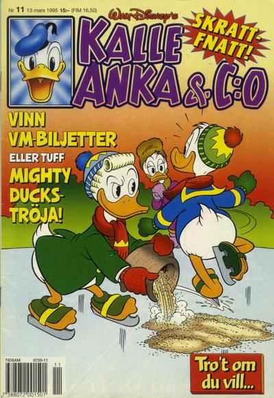 Cover for Kalle Anka & C:o (Serieförlaget [1980-talet], 1992 series) #11/1995