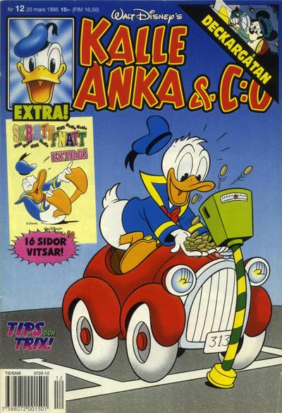 Cover for Kalle Anka & C:o (Serieförlaget [1980-talet], 1992 series) #12/1995