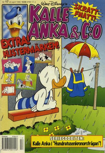 Cover for Kalle Anka & C:o (Serieförlaget [1980-talet], 1992 series) #17/1995