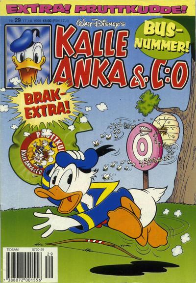 Cover for Kalle Anka & C:o (Serieförlaget [1980-talet], 1992 series) #29/1995