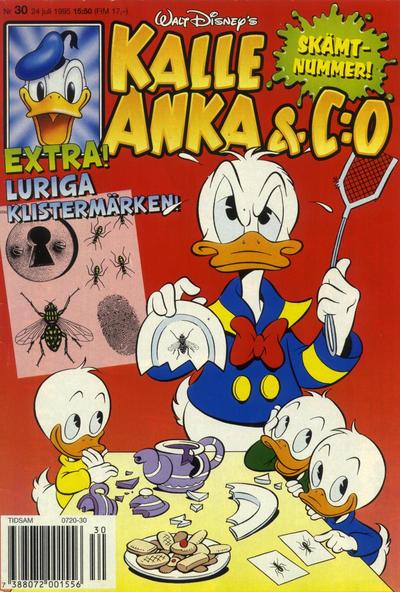 Cover for Kalle Anka & C:o (Serieförlaget [1980-talet], 1992 series) #30/1995