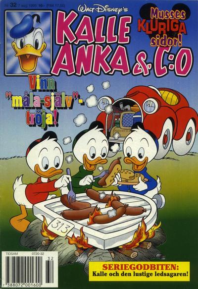 Cover for Kalle Anka & C:o (Serieförlaget [1980-talet], 1992 series) #32/1995