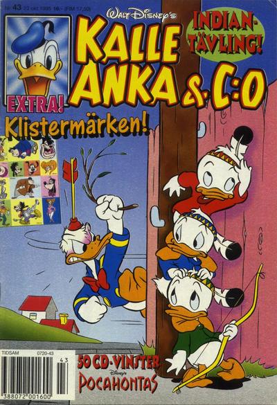 Cover for Kalle Anka & C:o (Serieförlaget [1980-talet], 1992 series) #43/1995