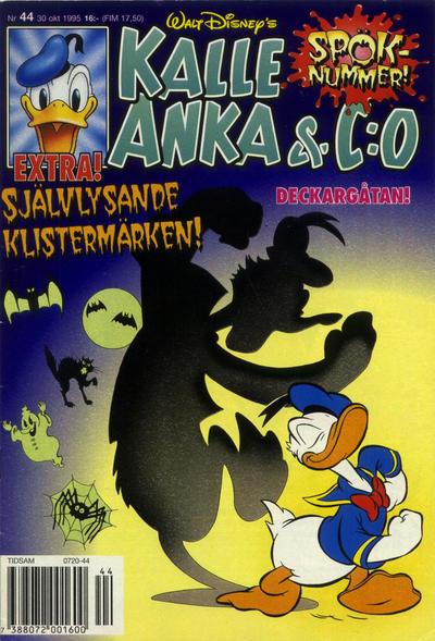 Cover for Kalle Anka & C:o (Serieförlaget [1980-talet], 1992 series) #44/1995