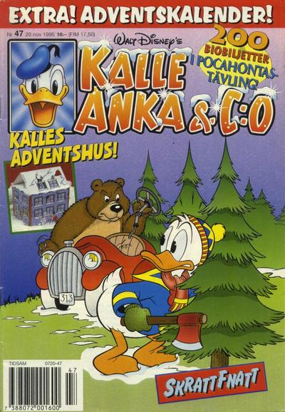 Cover for Kalle Anka & C:o (Serieförlaget [1980-talet], 1992 series) #47/1995