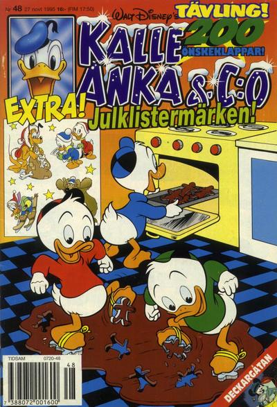 Cover for Kalle Anka & C:o (Serieförlaget [1980-talet], 1992 series) #48/1995