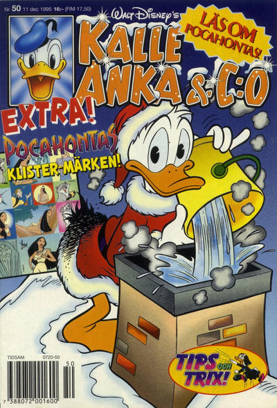 Cover for Kalle Anka & C:o (Serieförlaget [1980-talet], 1992 series) #50/1995