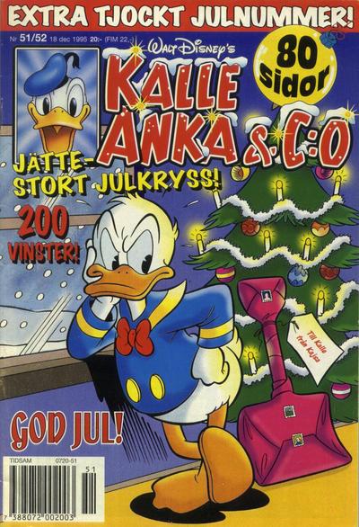 Cover for Kalle Anka & C:o (Serieförlaget [1980-talet], 1992 series) #51-52/1995