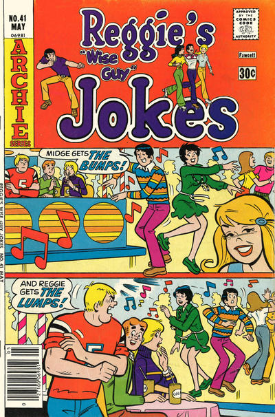 Cover for Reggie's Wise Guy Jokes (Archie, 1968 series) #41