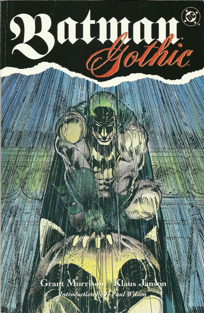 Cover for Batman - Gothic (DC, 1992 series) #[nn] [First Printing]