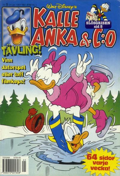 Cover for Kalle Anka & C:o (Serieförlaget [1980-talet], 1992 series) #5/1997