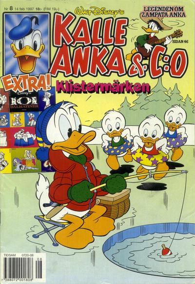 Cover for Kalle Anka & C:o (Serieförlaget [1980-talet], 1992 series) #8/1997