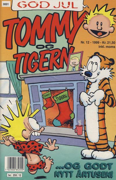 Cover for Tommy og Tigern (Bladkompaniet / Schibsted, 1989 series) #12/1999